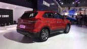 2017 Hyundai ix25 (CN-spec Hyundai Creta facelift) rear three quarters