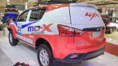 2017 Isuzu MU-X off-roader rear three quarters left side at GIIAS 2017