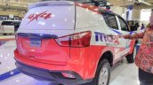 2017 Isuzu MU-X off-roader rear three quarters right side at GIIAS 2017