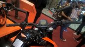 2017 KTM 250 Duke handlebars at GIIAS 2017