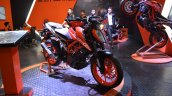 2017 KTM 390 Duke at Nepal Auto Show front right quarter