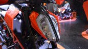 2017 KTM 390 Duke at Nepal Auto Show headlamp