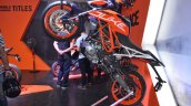 2017 KTM 390 Duke at Nepal Auto Show left profile