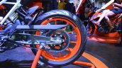 2017 KTM 390 Duke at Nepal Auto Show rear wheel