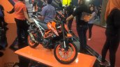 2017 KTM 390 Duke front right quarter at GIIAS 2017