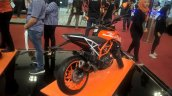 2017 KTM 390 Duke rear right quarter at GIIAS 2017