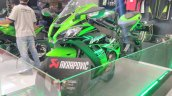 2017 Kawasaki Ninja ZX10-R with Akrapovic front left quarter at GIIAS 2017