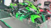 2017 Kawasaki Ninja ZX10-R with Akrapovic front right quarter at GIIAS 2017