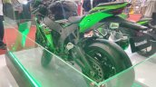 2017 Kawasaki Ninja ZX10-R with Akrapovic rear left quarter at GIIAS 2017