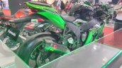 2017 Kawasaki Ninja ZX10-R with Akrapovic rear right quarter at GIIAS 2017