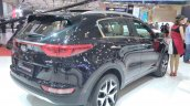 2017 Kia Sportage rear three quarters right side at GIIAS 2017