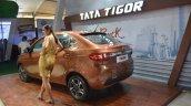 2017 Tata Tigor rear left quarter - Nepal Live