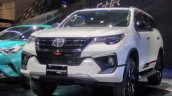 2017 Toyota Fortuner TRD Sportivo bumper at the 2017 GIIAS Live