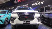 2017 Toyota Fortuner TRD Sportivo front at the 2017 GIIAS Live