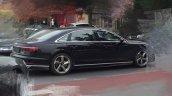 2018 Audi A8 L exterior spy shot