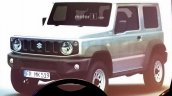 2018 Suzuki Jimny Leaked front three quarters