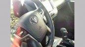 2018 Toyota Land Cruiser Prado (facelift) interior spy shot