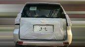 2018 Toyota Land Cruiser Prado (facelift) rear spy shot