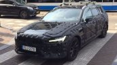 2018 Volvo V60 front three quarters spy shot