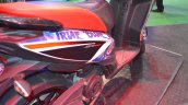 Aprilia SR150 rear body panel with Chelsea livery at Nepal Auto Show 2017