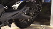 Bajaj Dominar 400 at Nepal Auto Show swingarm