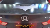 Batman-themed Honda City boot lid at Nepal Auto Show 2017