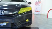 Batman-themed Honda City front details at Nepal Auto Show 2017