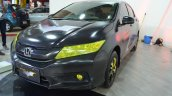 Batman-themed Honda City front three quarters at Nepal Auto Show 2017