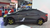 Batman-themed Honda City profile at Nepal Auto Show 2017