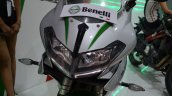 Benelli 302R at Nepal Auto Show headlamps