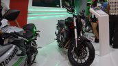 Benelli TNT 300 at Nepal Auto Show front