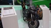 Benelli TRK 502 at Nepal Auto Show front