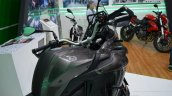 Benelli TRK 502 at Nepal Auto Show fuel tank