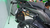 Benelli TRK 502 at Nepal Auto Show pannier frame