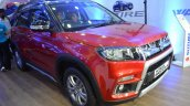 Customised Maruti Vitara Brezza front three quarters at Nepal Auto Show 2017