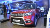 Customised Maruti Vitara Brezza front three quarters left side at Nepal Auto Show 2017