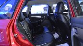 Customised Maruti Vitara Brezza rear seats at Nepal Auto Show 2017