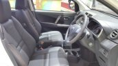 Daihatsu Sirion Special Edition GIIAS 2017 front seats