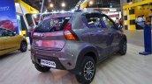 Datsun redi-GO Cross rear three quarters at Nepal Auto Show 2017
