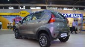 Datsun redi-GO Cross rear three quarters left side at Nepal Auto Show 2017