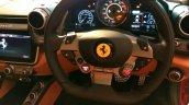 Ferrari GTC4Lusso India steering