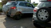 Ford EcoSport facelift spotted in Moondust Silver colour