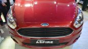Ford Figo Aspire front fascia top view at Nepal Auto Show 2017