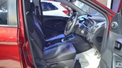 Ford Figo Aspire front seats at Nepal Auto Show 2017