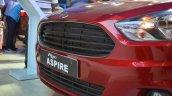 Ford Figo Aspire grille at Nepal Auto Show 2017