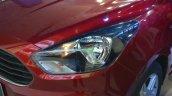 Ford Figo Aspire headlamp at Nepal Auto Show 2017