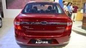 Ford Figo Aspire rear at Nepal Auto Show 2017