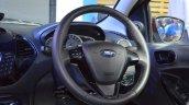 Ford Figo Aspire steering wheel at Nepal Auto Show 2017