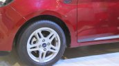 Ford Figo Aspire wheel at Nepal Auto Show 2017