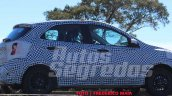 2018 Ford figo facelift spied in brazil side view